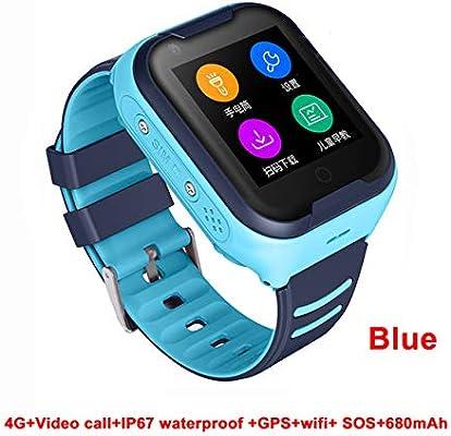 Yiwa Resistente al Agua 4G Kids Smart Watch Soporte Bluetooth ...