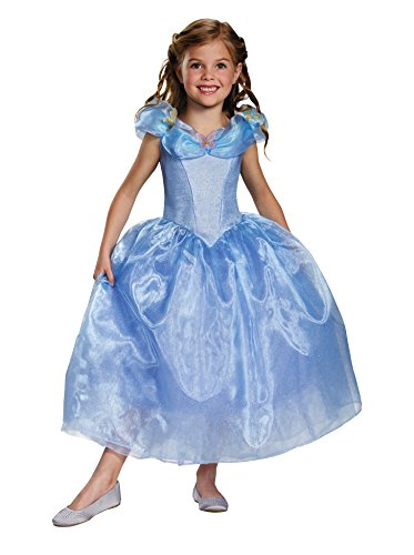 Disguise Cinderella Movie Deluxe Costume, X-Small (Cinderella Dress Disney)