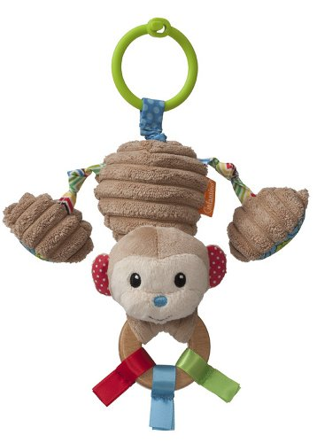 Infantino Travel Activity Gym - Infantino Gaga Jittery Monkey