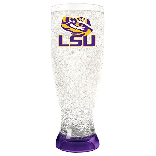 (NCAA Louisiana State Tigers 16oz Crystal Freezer Pilsner)