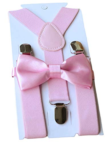 Buy Bow Ties (UDRES Unisex Kid Boys Girls Adjustable Bow tie & Suspender Sets (One Size,)