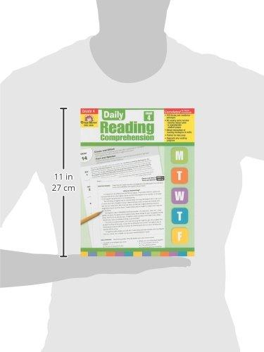 Amazon.com: Daily Reading Comprehension, Grade 4 (9781608236350 ...