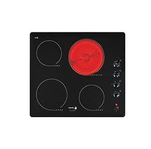 Fagor VFI 400 I - Placa de cocina vitrocerámica (59 cm), color negro