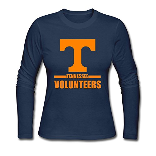 tennessee-volunteers-womans-100-cotton-long-sleeve-t-shirt-navy-x-large