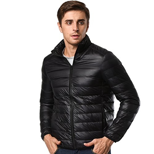 Mens Down Jacket ultra light and packable