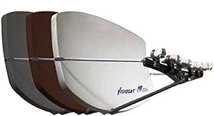 Visiosat Big bisat Multi Beam Antena en antracita para hasta ...