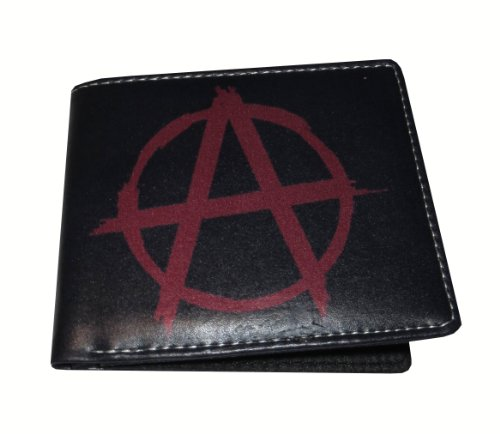 Wallet Anarchy (Anarchy Mens/Womens Wallet Hip Hop)