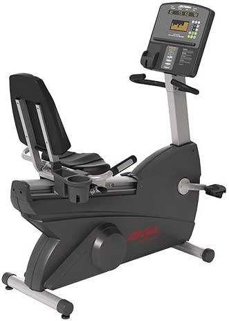 Life Fitness Club serie reclinado ciclo bicicleta estática: Amazon ...