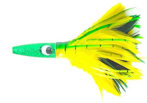 C&H Wahoo Wacker Feathers 10-Inch Lure, Dolphin ()