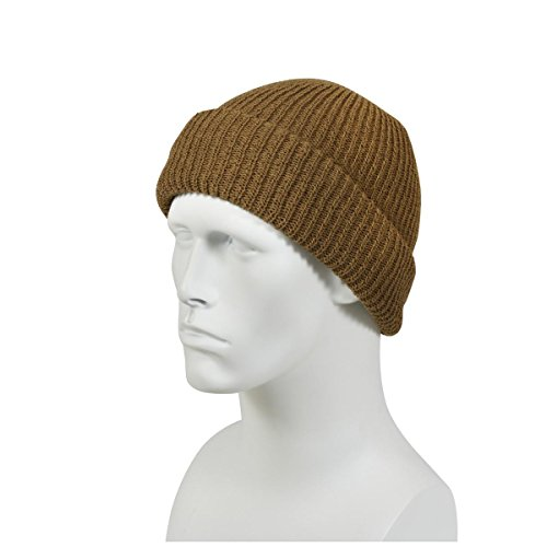 Heavyweight Knit Cap - Rothco Coyote Brown Acrylic Knit Cap, Heavyweight and Warm!