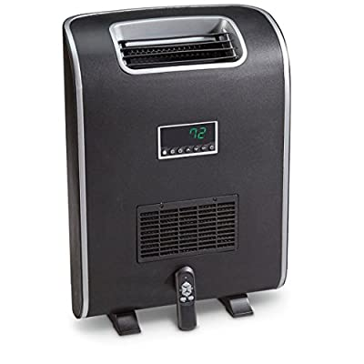 LifePro Lifesmart PCHT1074 Infrared Space Heater, Black