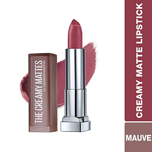 Maybelline New York Color Sensational Creamy Matte Lipstick, Touch of Spice, 0.15 oz.