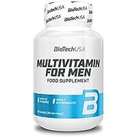 BioTech USA multivitamin för män, 60 tabletter