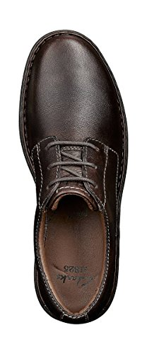 Clarks Stratton Way, Scarpa classica modello derby Uomo Brown (Brown Leather)