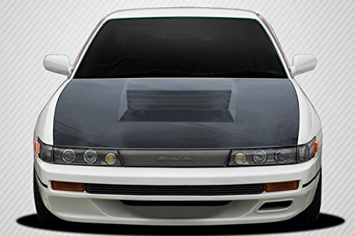 Carbon Creations Replacement for 1989-1994 Nissan Silvia S13 D-1 Hood - 1 Piece