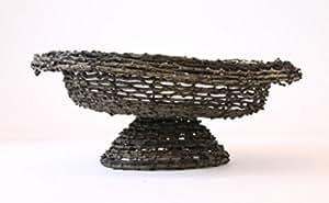 Cocoware Diabolo marrón mimbre cesta Plant/Flower Pot