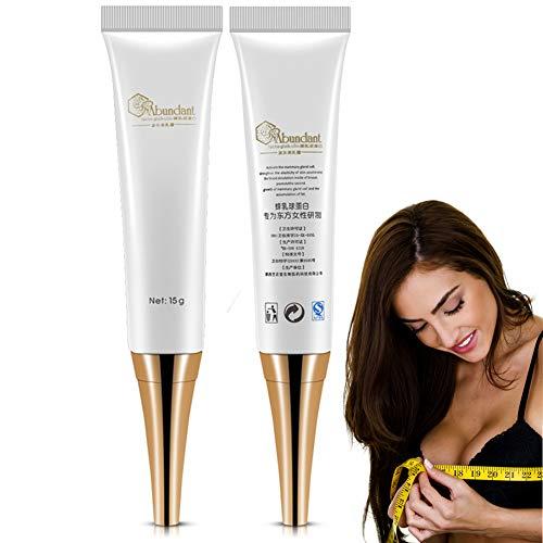 Breast Cream, Natural Breast Enlargement Enhancement Supplement Massage Cream Essential Oil for Enlarging and Lifting Bust