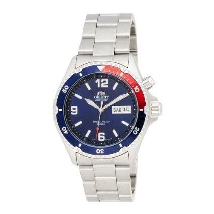 Orient 5 CEM65006DV Deep Pepsi - Reloj de buceo automático (esfera azul y negra,