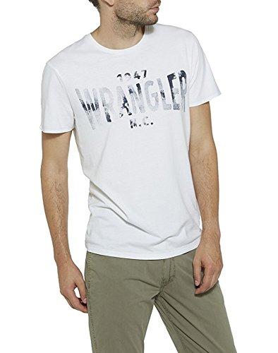 Wrangler S/S Wrangler Tshirt - White XL