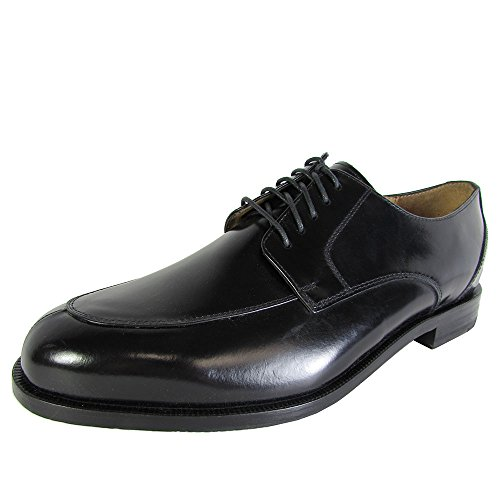 Cole Haan Men's Carter Grand Split Oxford, Black, 8 M (Split Toe Oxfords)