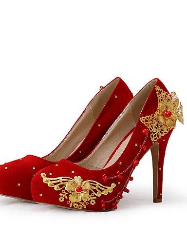 3 Boda 4in Fiesta y us9 Rojo boda 4in eu40 Mujer Noche 4in cn41 4in Zapatos us9 Tacones 3 4 4in GGX 4 uk7 eu40 cn41 Vestido uk7 cn41 4 Tacones de eu40 us9 3 4in uk7 cxfXq8aW6