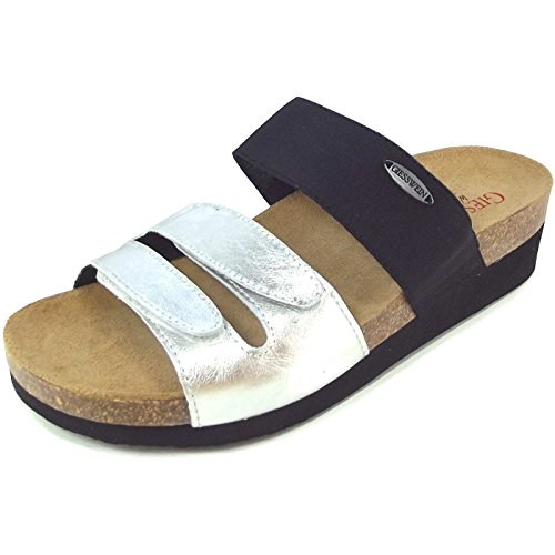 Giesswein silber femme Vittoria brun Chaussures foncé pTrzqpng