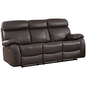 Brilliant Amazon Com Homelegance Greeley Reclining Sofa Top Grain Download Free Architecture Designs Scobabritishbridgeorg