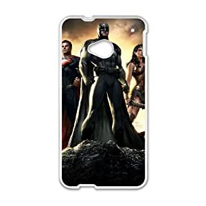 Superman HTC One M7 Cell Phone Case White Y3416465