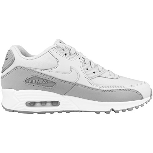 Nike Herre Air Max 90 Væsentlig Lav-top Grå (ulv Gr Ey Ren PlatinumHvid 088) rIjNM6a