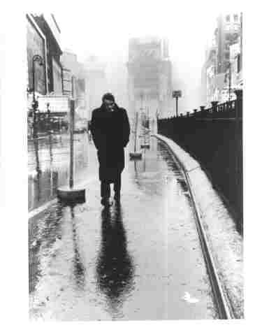 Photo of James Dean in New York City