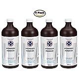 PSP Hydrogen Peroxide 3%, 4 x 500 ml Bottles