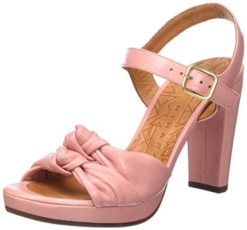 Chie Mihara Champan, Sandalias con Plataforma para Mujer Rose (Maitai Pink)