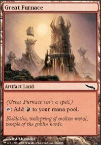 Magic: the Gathering - Great Furnace - Mirrodin by Magic: the ()