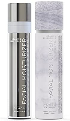 Best Cheap Deal for Vidazen Anti Aging Moisturizer for Face with Healing Antioxidants for Sensitive Oily Dry or Acne Prone Skin - Natural Organic Wrinkle Reducing Daily Facial Lotion for Youthful Looking Complexion from Vidazen - Free 2 Day Shipping Avail