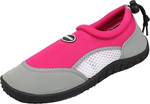 Plage Vacances Kayak Plongée Chaussures Apnée 28 Chaussures d'eau BOCKSTIEGEL® Aqua Enfants FÖHR fuchsia 35 Néoprène wUUOCzq