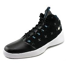 Nike Hyperfr3sh Print N7 Men US 10 Black Basketball Shoe