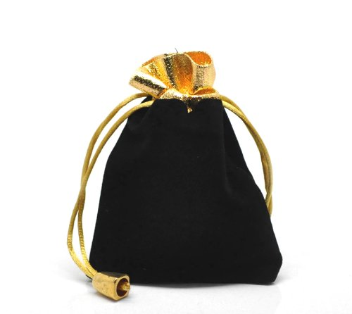 Housweety Drawstring Pouches Jewelry 12cmx9cm