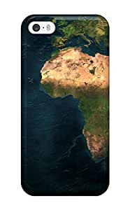 Alex Perez Riva's Shop Earth Map Dual Monitor Feeling Iphone 5/5s On Your Style Birthday Gift Cover Case