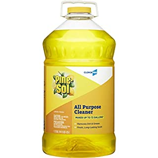 Pine-Sol 35419 Clorox-Pine-Sol-All-Purpose-Cleaner-144-Ounce, 144-Ounce, Lemon Fresh