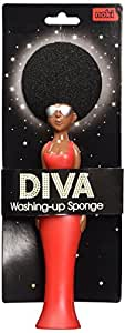 Paladone Diva Novelty Kitchen Sponge