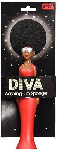 Diva Washing Up Sponge - Novelty Kitchen