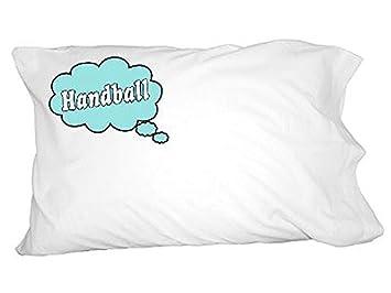 Dreaming Of Handball Blau Neuheit Bettwäsche Kissenbezüge Amazon
