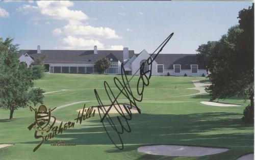 Retief Goosen Autographed Southern Hills Golf Scorecard - 2001 U.S. Open Champion