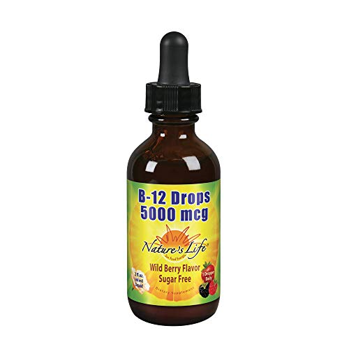 Nature's Life B12 Methlycobalamin Wildberry, 2 Fluid Ounce
