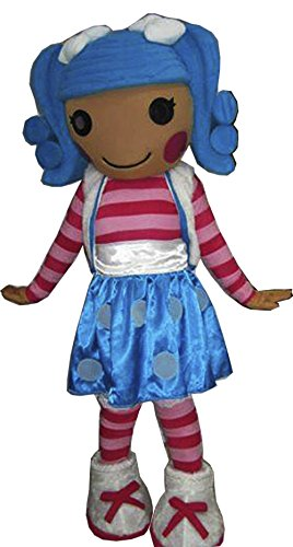 [Lalaloopsy Mascot Costume Adult Costume] (Lalaloopsy Adult Costumes)