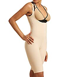Recovery Knee-Length Compression Girdle with High-Back, Step 2 (pull on)