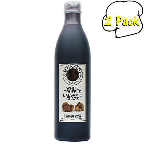 Mussini Cream, Balsamic Glaze with Truffle, 16.9-Ounce Bottles (Pack of 2) ()