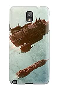 Hard Plastic Galaxy Note 3 Case Back Cover,hot Warhammer 40k Spaceships Case At Perfect Diy