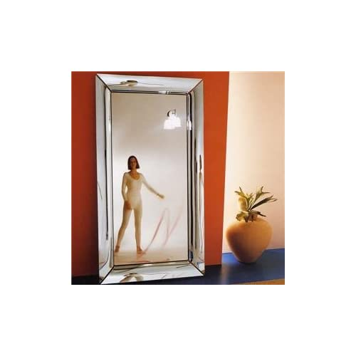Caadre hanging mirror by philippe starck for fiam for Miroir caadre philippe starck