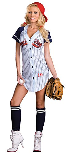 Grand Slam Adult Costume - (Grand Slam Costume Baseball)